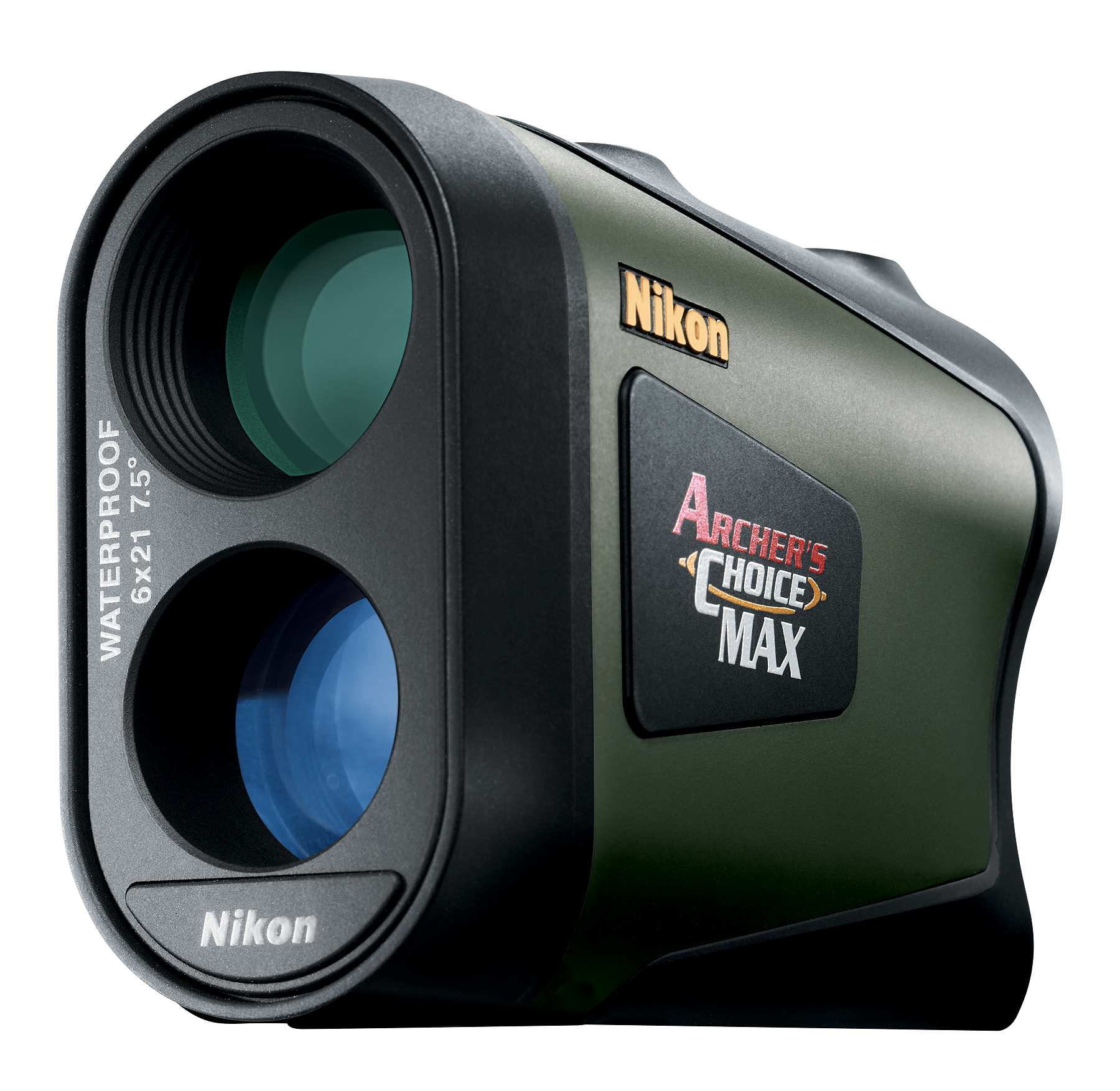 Nikon 8376 Archers Choice Max 6x 21mm 7.5 degree FOV 18.3mm Black/Grn