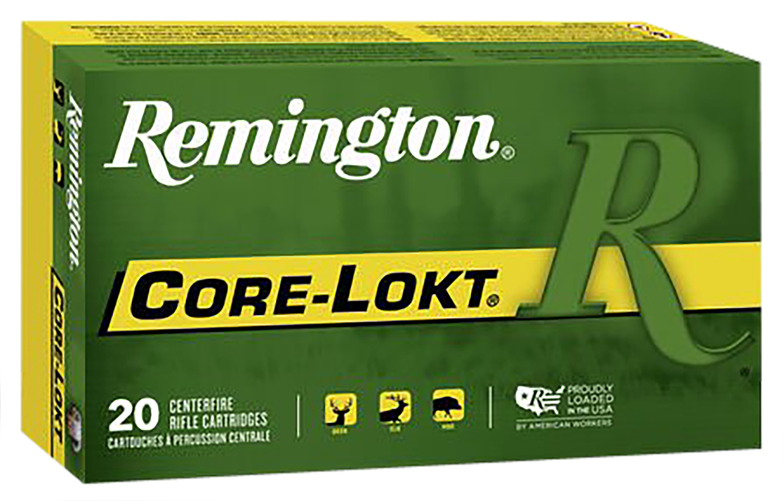 Rem Ammo R7UM1P1 Core-Lokt 7mm Rem Ultra Mag Pointed Soft Point 140 GR 20Bx/10Cs
