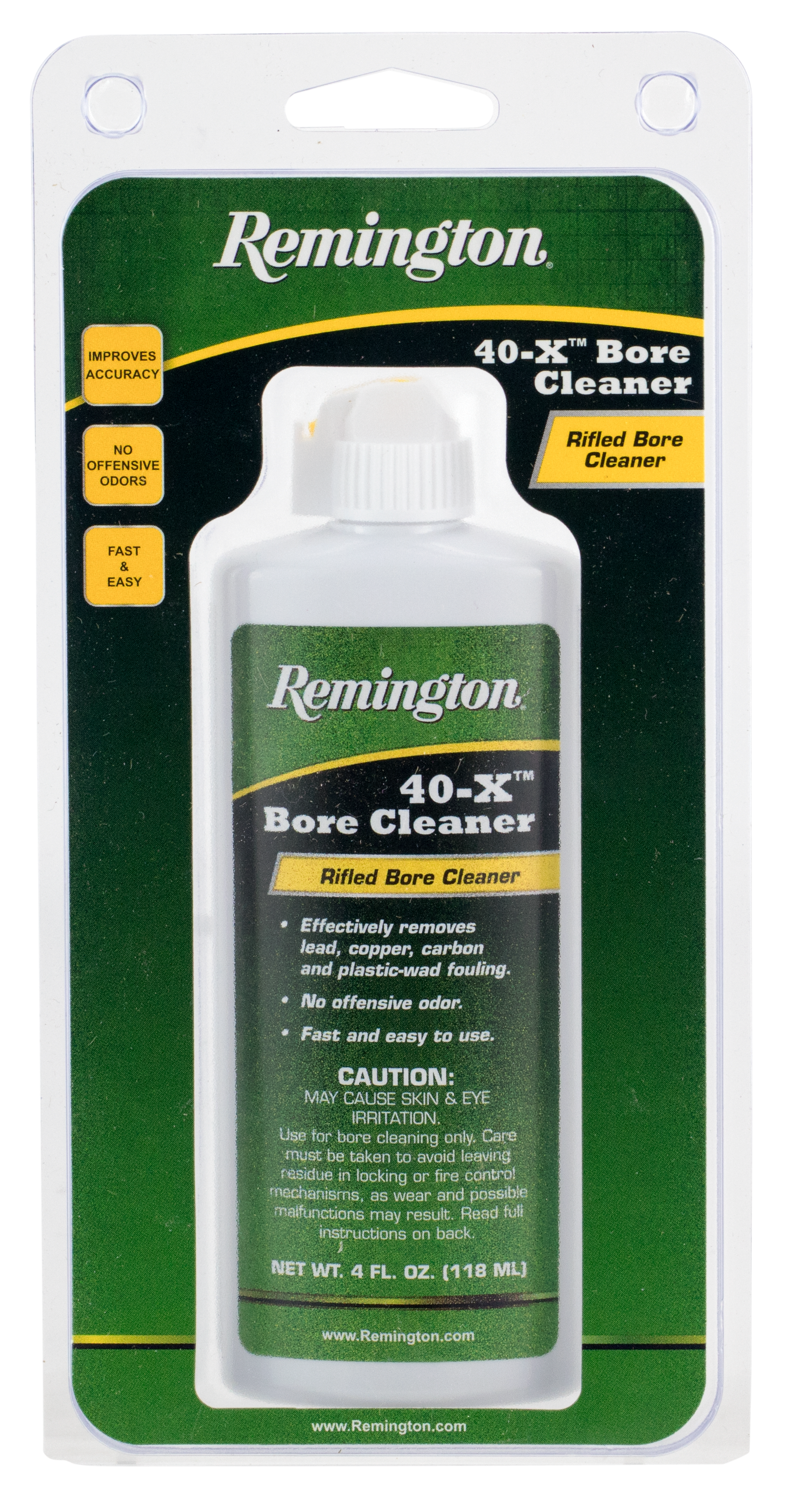 Remington Accessories 18397 Bore Cleaner  4 oz