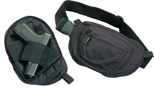 Command Arms 5006 Covert Holster Waist Pack 500D Cordura Textured Black