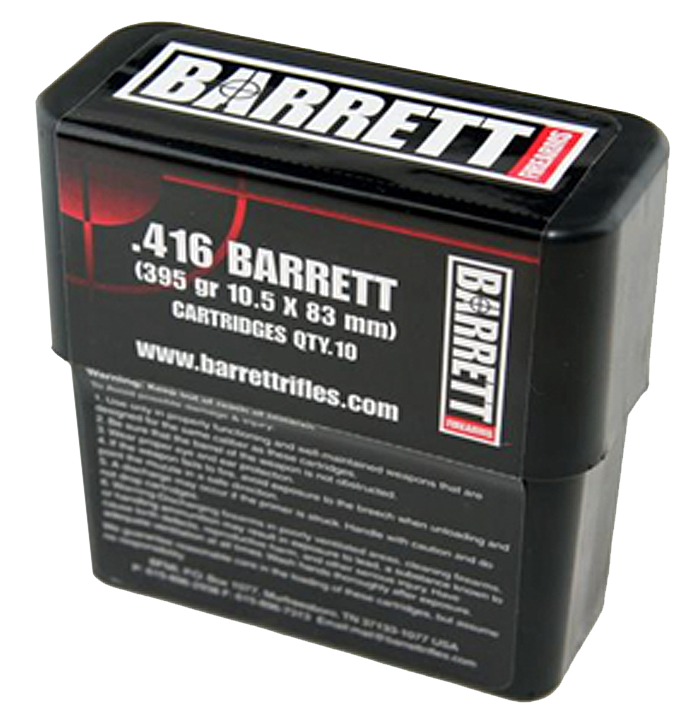 Barrett 12178 416 416 Barrett 398 GR Brass Solid 10 Bx/ 8 Cs
