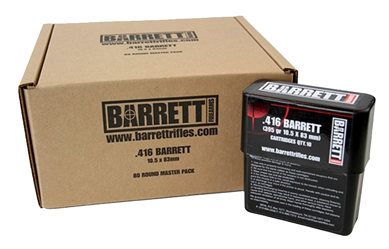 Barrett 41680 416 Barrett 398 GR Brass Solid 10 Bx/ 8 Cs