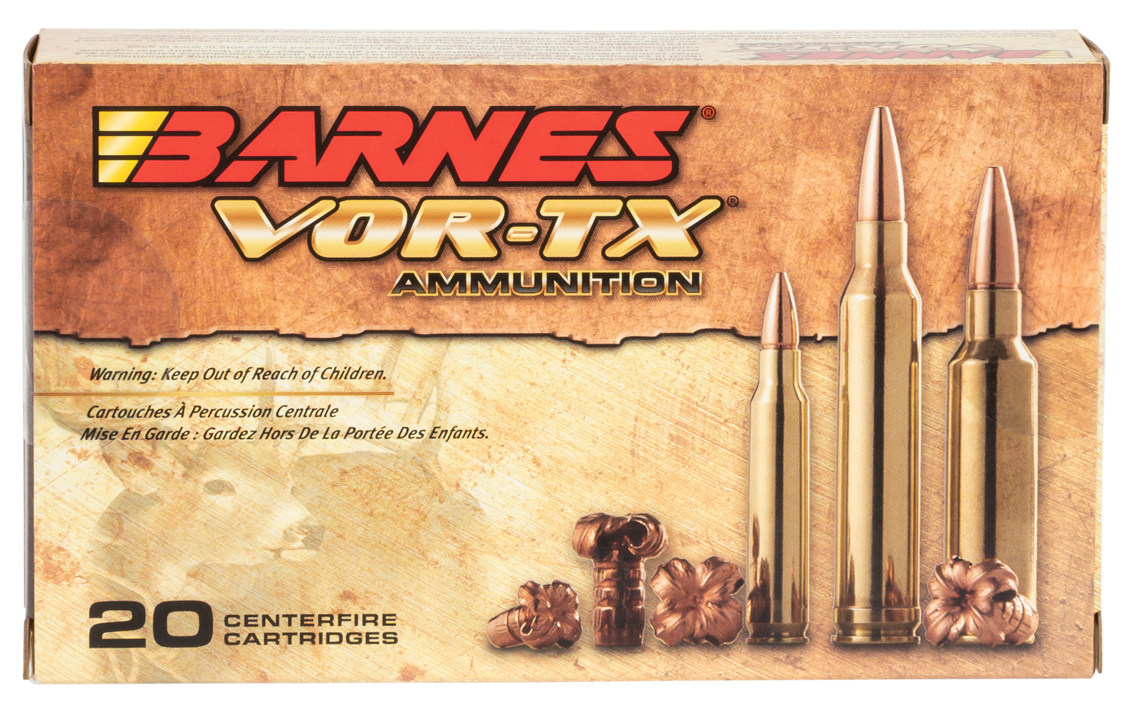Barnes 21529 VOR-TX 7mm Remington Magnum 160GR TSX Boat Tail 20Box/10Case