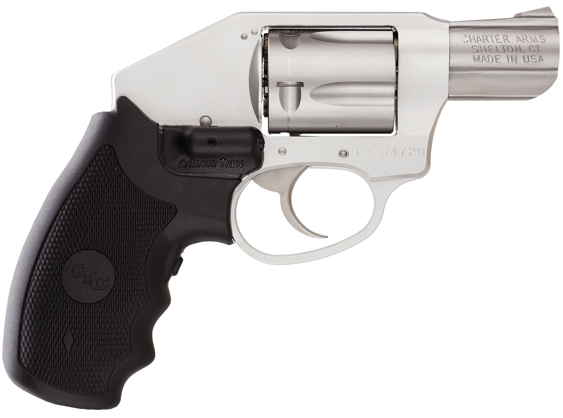 Charter Arms 53814 Undercover Crimson Off Duty Double 38 Special 2