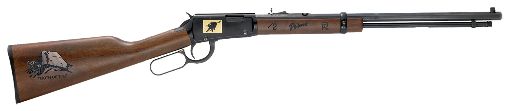 Henry H001TPM Lever Special Edition Philmont Scout Ranch Rifle Lever 22 Short/Long/Long Rifle 20