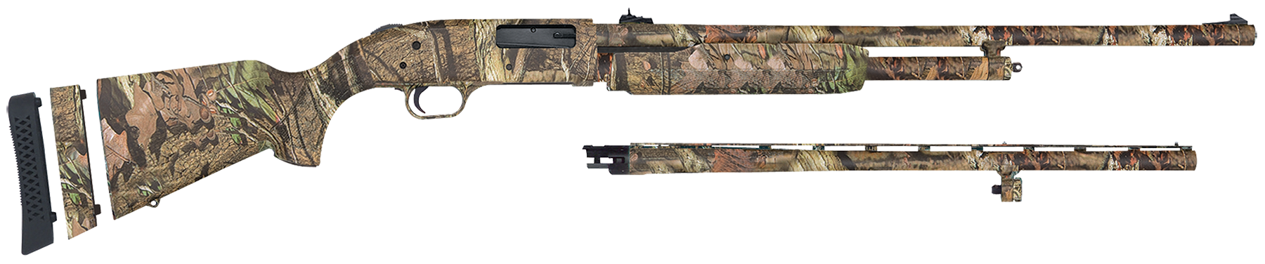 Mossberg 54145 500 Super Bantam Combo Pump  20 Mossy Oak Break-Up Infinity