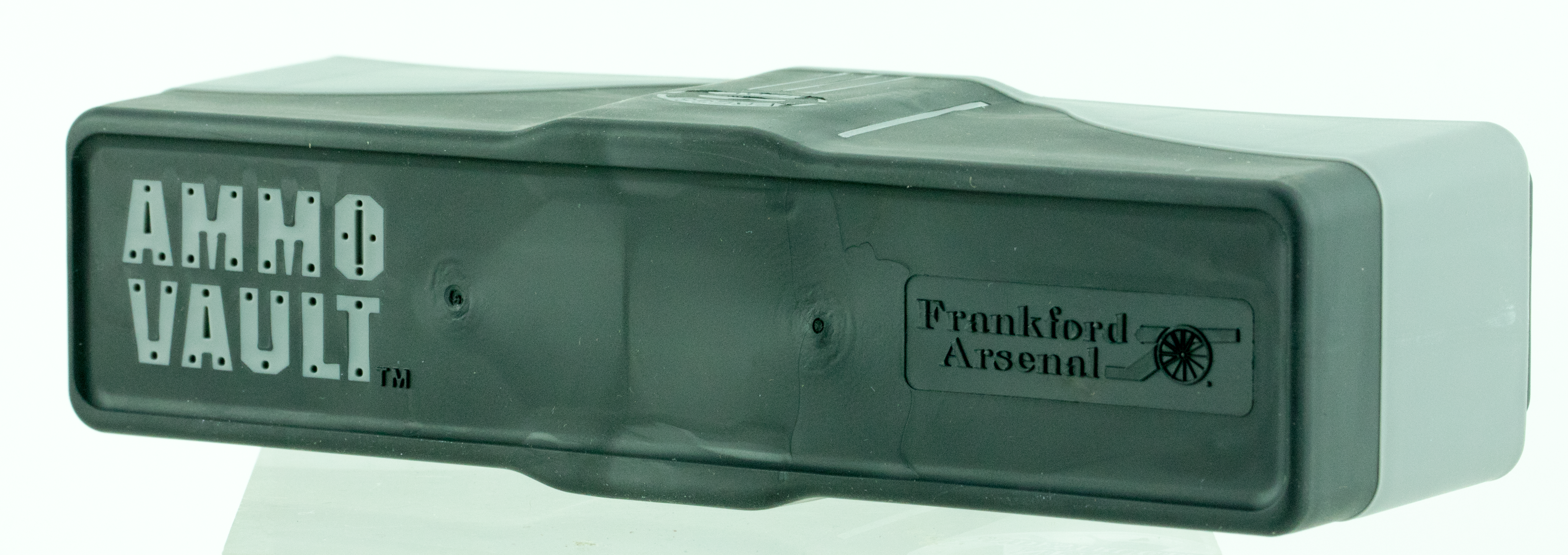 Frankford Arsenal 912610 Ammo Vault RLG-20 Ammuntion Box Lg 20rd Plastic Gray/Black