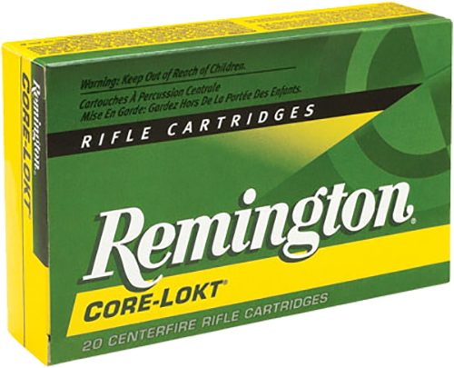 Rem Ammo R7X641 Core-Lokt 7x64mm Brenneke Pointed Soft Point 140 GR 20Box/10Case