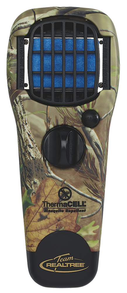 Thermacell MRTJ Realtree APG Repellent Dispenser w Unscented Mats/Butane