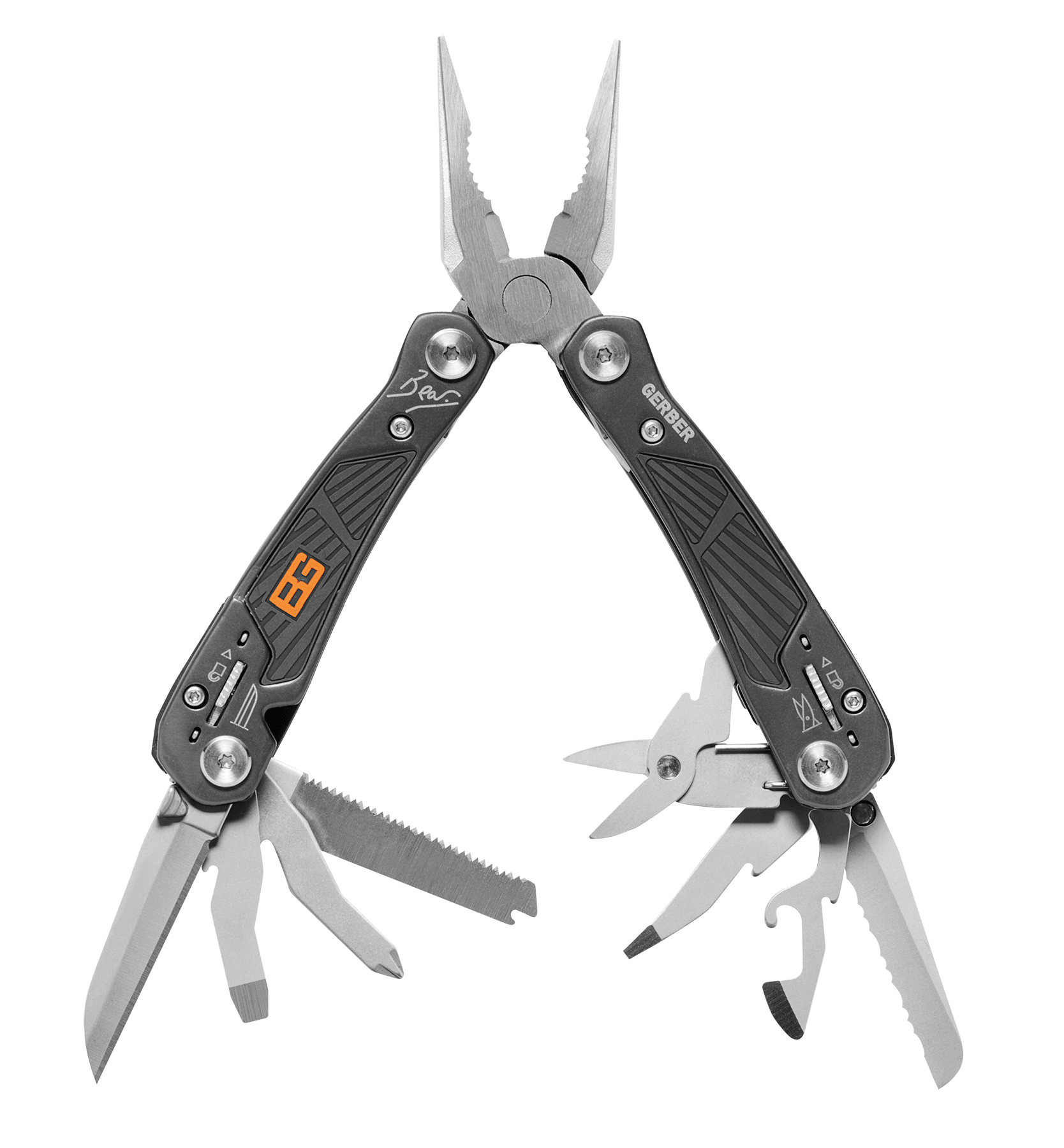 Gerber 000749 BG Multi-Tool Stainless Multiple Blades Blade Stainless Steel