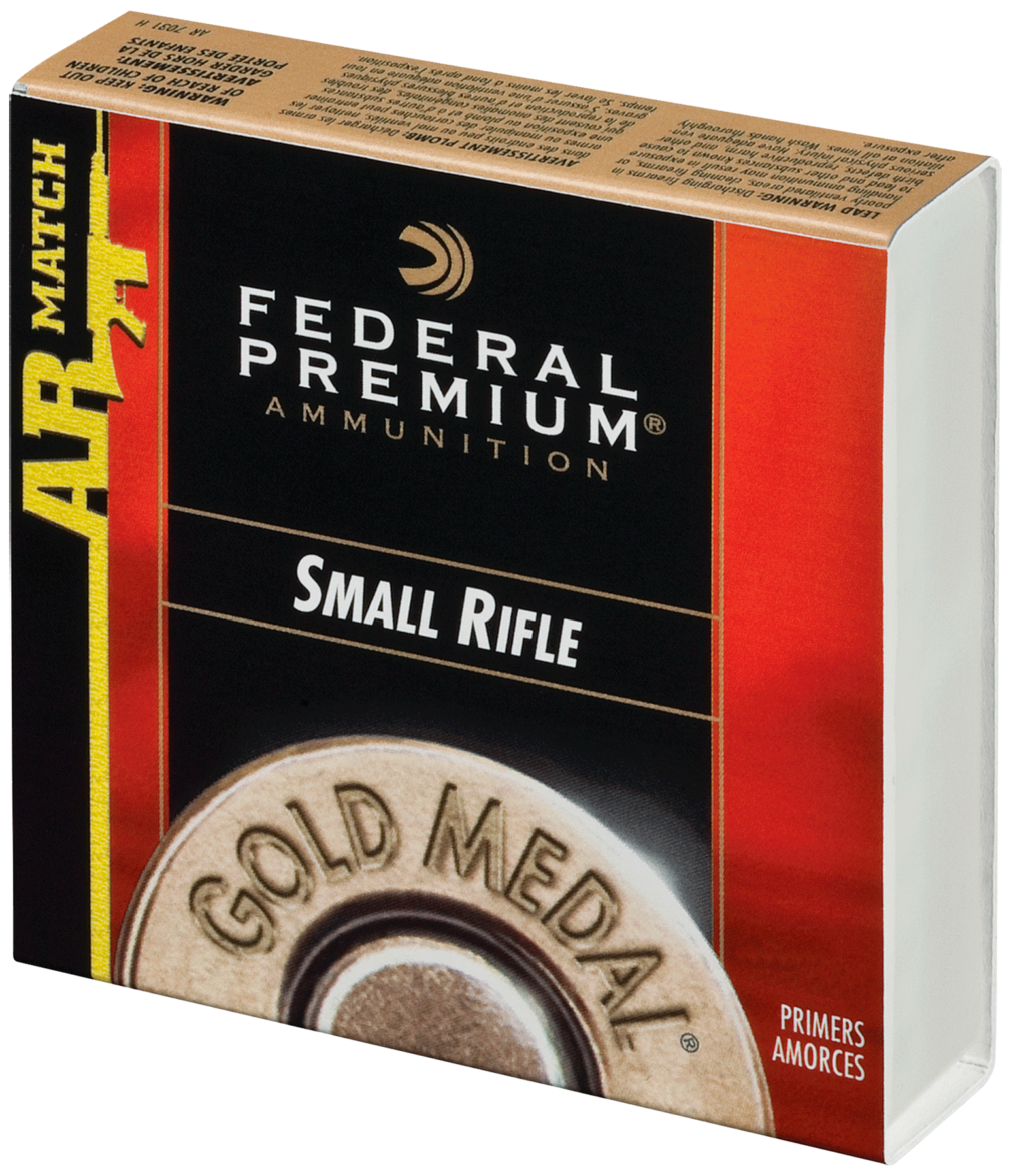 Federal GM205MAR Premium Small Rifle  1000 Per Box