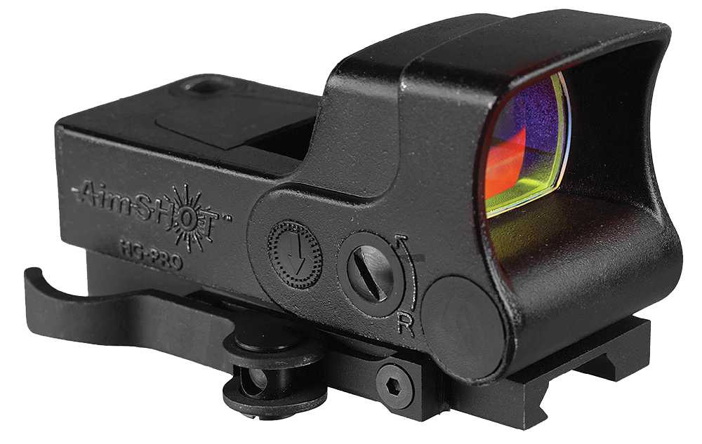 Aimshot HGPROA HG-Pro 1x 34mm Obj Unlimited Eye Relief 5 MOA Black Matte