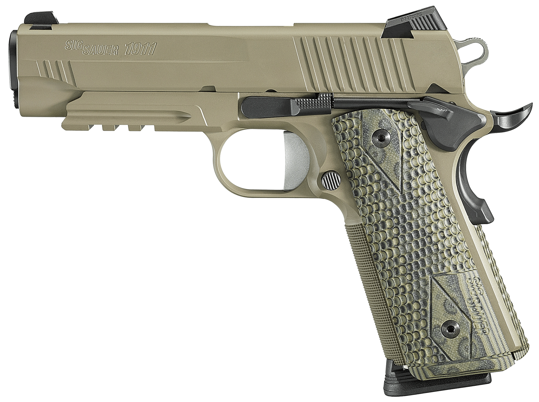 Sig 1911CAR45SCPN 1911 Carry Scorpion 45 ACP 4.2
