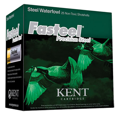 Kent Cartridge K122ST303 Fasteel Waterfowl 12 Gauge 2.75