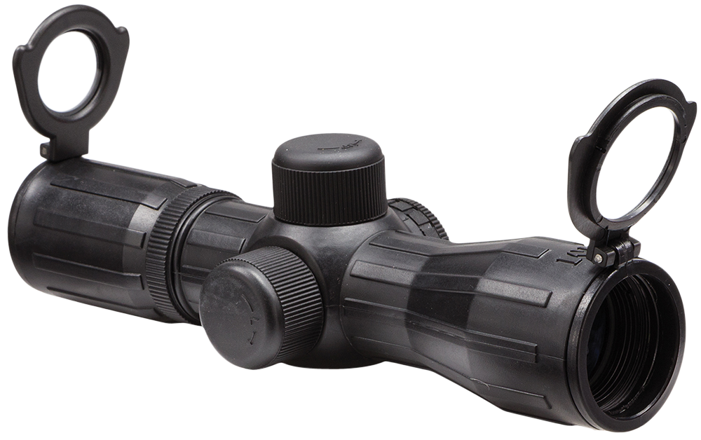 Aim Sports JTDX430G P4 4x 30mm Obj 26.5ft@100yd FOV Blk R/G IL P4 Sniper