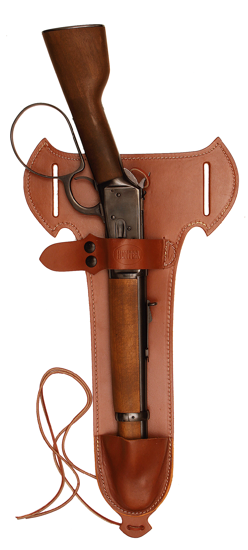 Hunter Company 1892C Belt Holster  Brown Leather