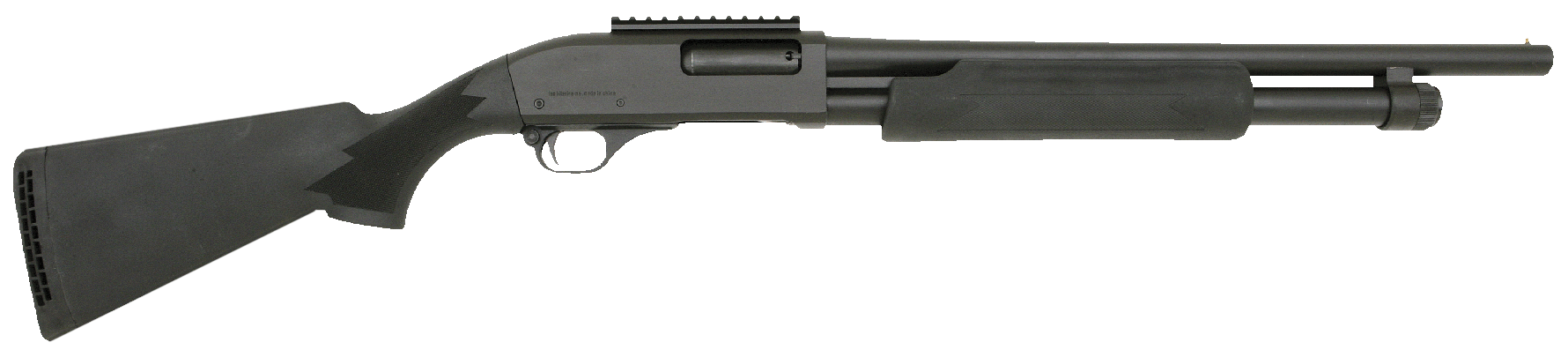 Interstate Arms 981R Hawk w/Rail Pump 12ga 18.5