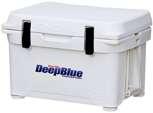 Engel ENG25 Deep Blue Performance Coolers 25 Quart White