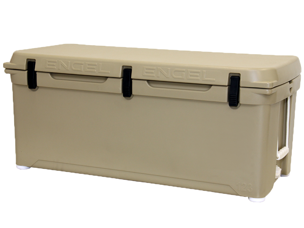 Engel ENG123T Deep Blue Performance Coolers 123 Quart Tan