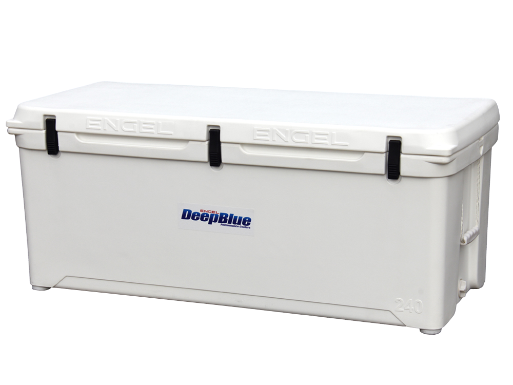 Engel ENG240 Deep Blue Performance Coolers 240 Quart White