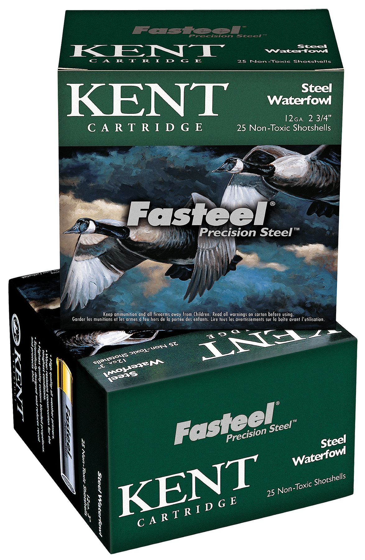 Kent Cartridge K122ST302 Fasteel Waterfowl 12 Gauge 2.75