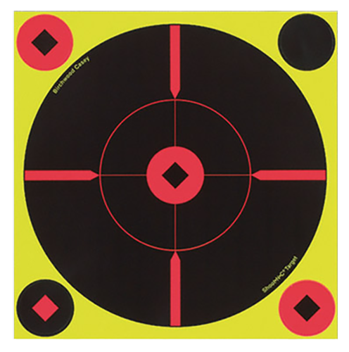 Birchwood Casey 34850 Shoot-N-C Self-Adhesive Targets Round X-Target 50 Pack