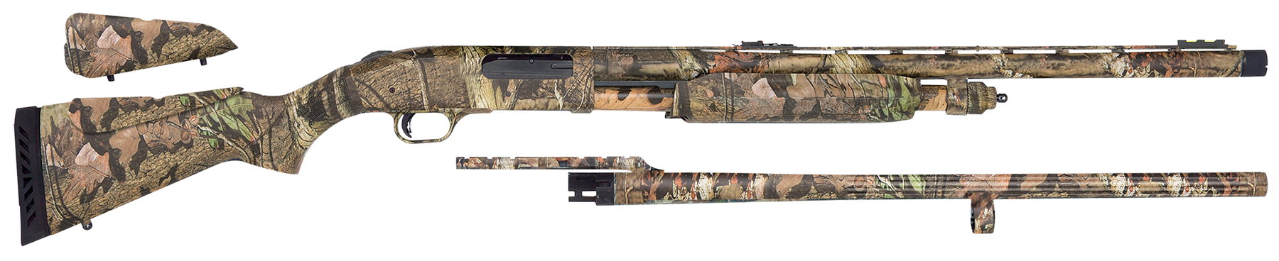 Mossberg 63417 835 Combo with LPA Pump  12 Mossy Oak Break-Up Infinity