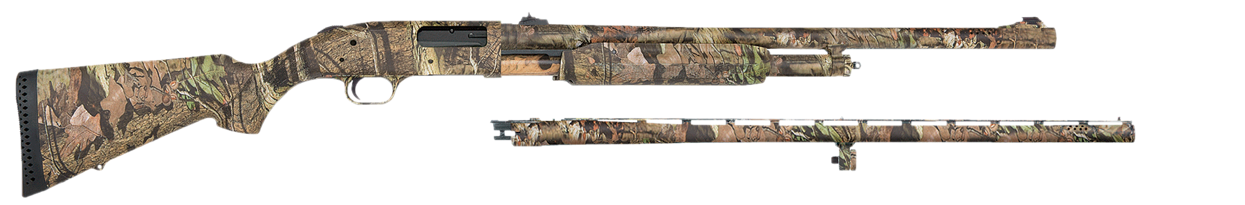 Mossberg 52272 500 Combo Shotguns Pump  12 Mossy Oak Break-Up Infinity