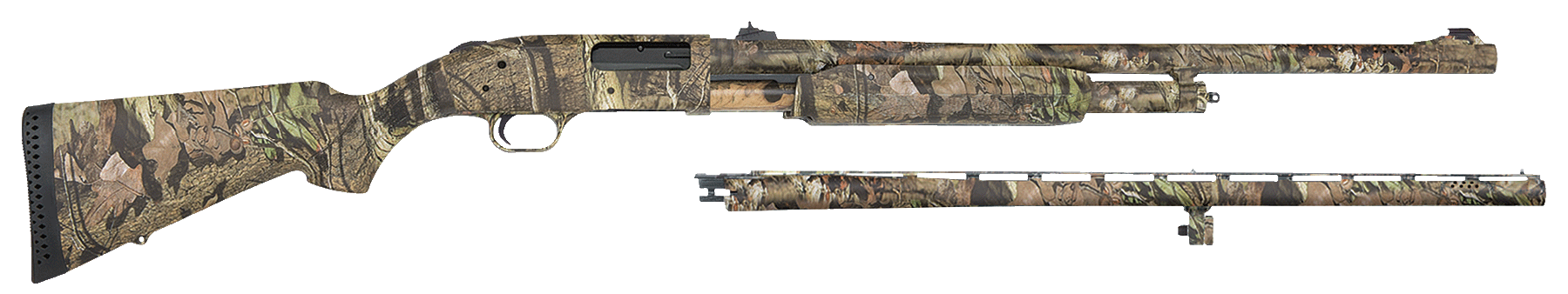 Mossberg 54182 500 Combo Shotguns Pump  20 Mossy Oak Break-Up Infinity