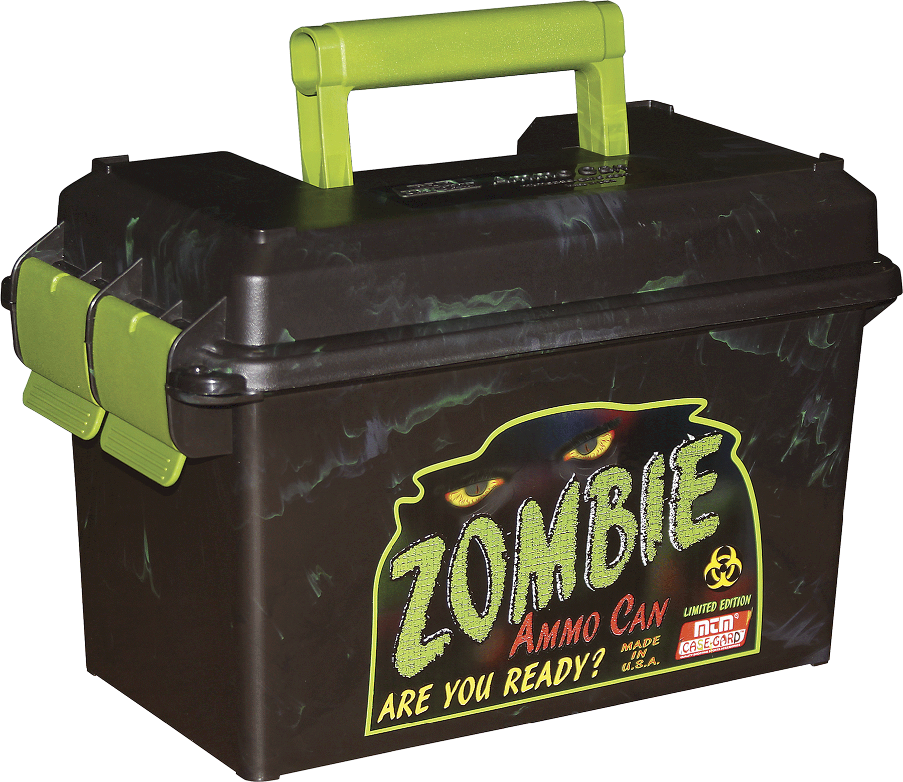 MTM AC50Z  Zombie Ammo Can 50 Cal 7.4