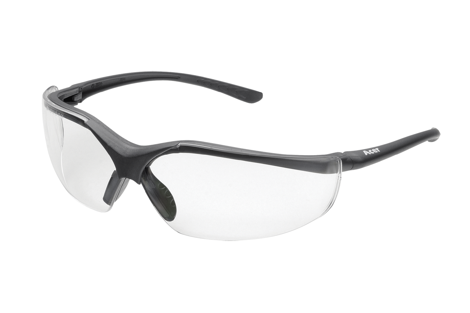 Elvex Corp RSG12C Acer Safety Glasses Clear Lens Clamshell Package