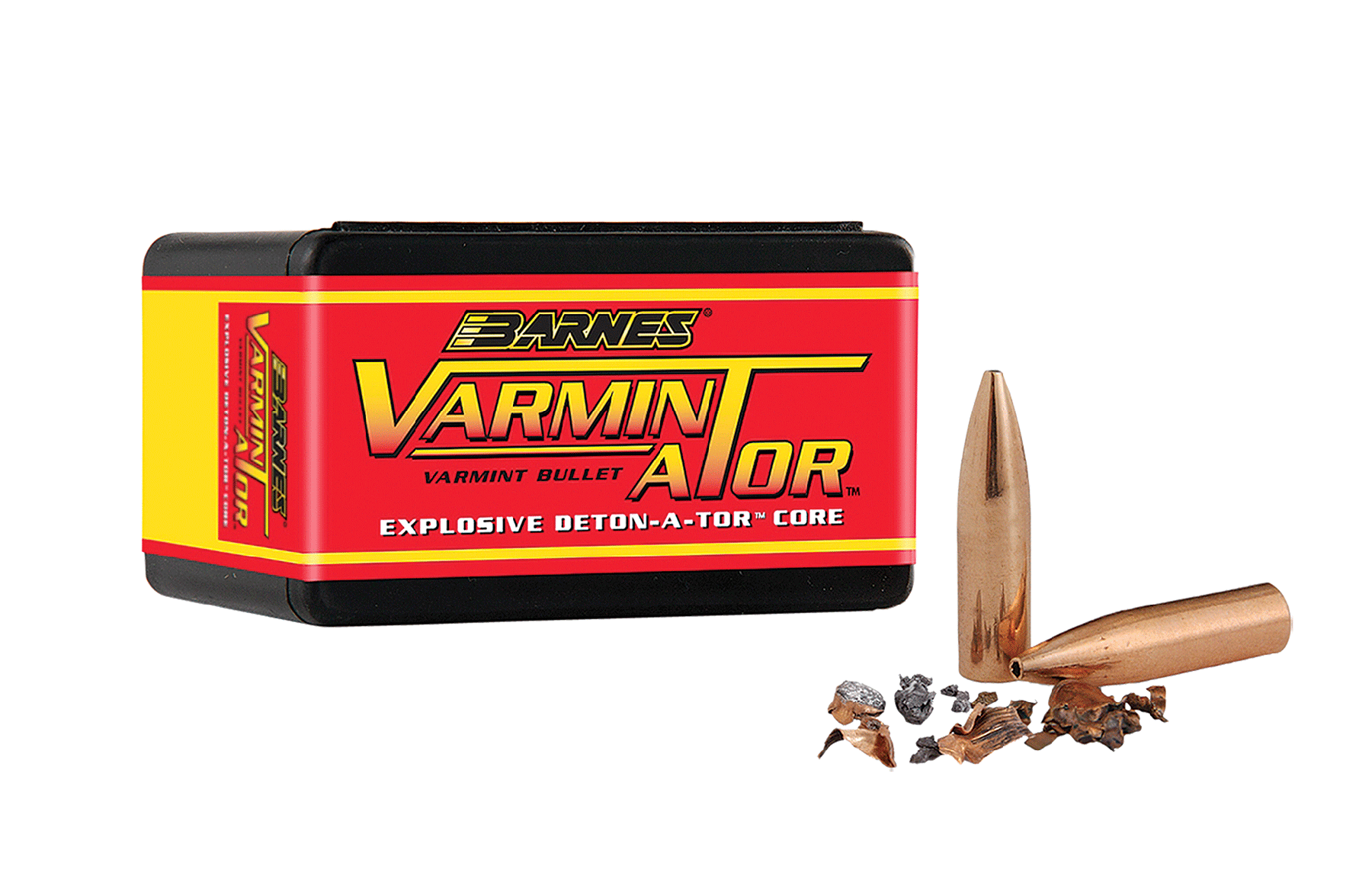 Barnes Bullets 30168 Rifle Varmin-A-Tor 22 Caliber .224 40 GR FBHP 100 Box