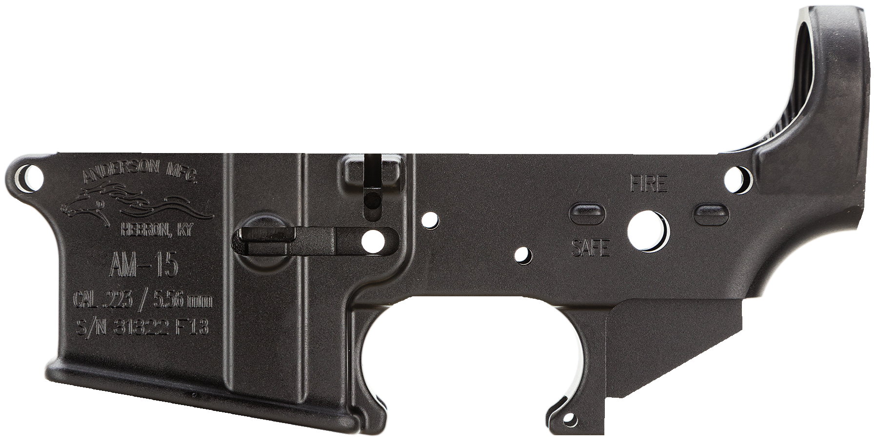 Anderson AR15A3LWFOR AR-15 Stripped Lower  Receiver AR Rifle