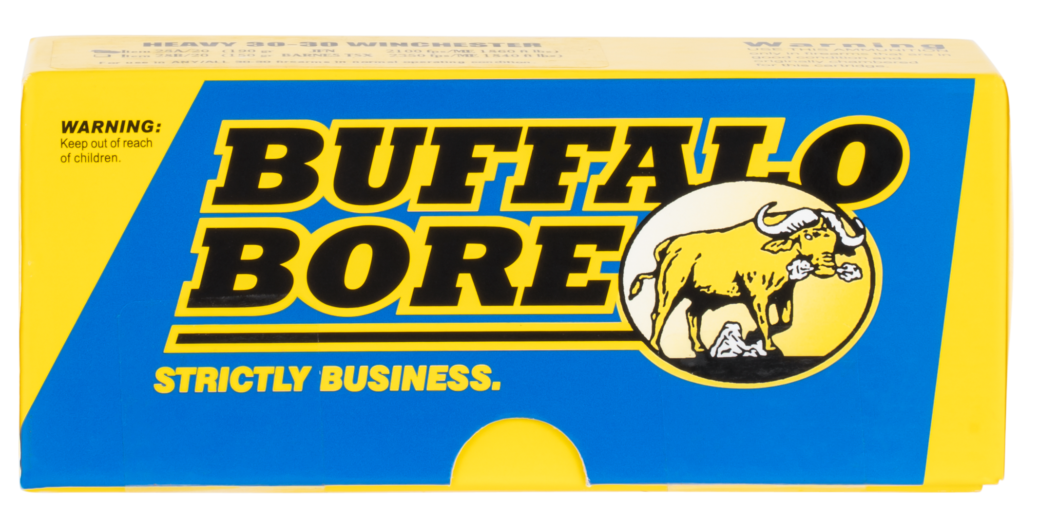 Buffalo Bore Ammo 28A/20 Rifle 30-30 Win Jacketed Flat Nose 190GR 20Box/12Case