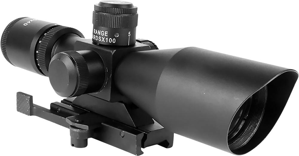 Aim Sports JTSDP3940G Titan 3-9x 40mm Obj 37.5-12.4ft@100yd FOV Blk IL P4