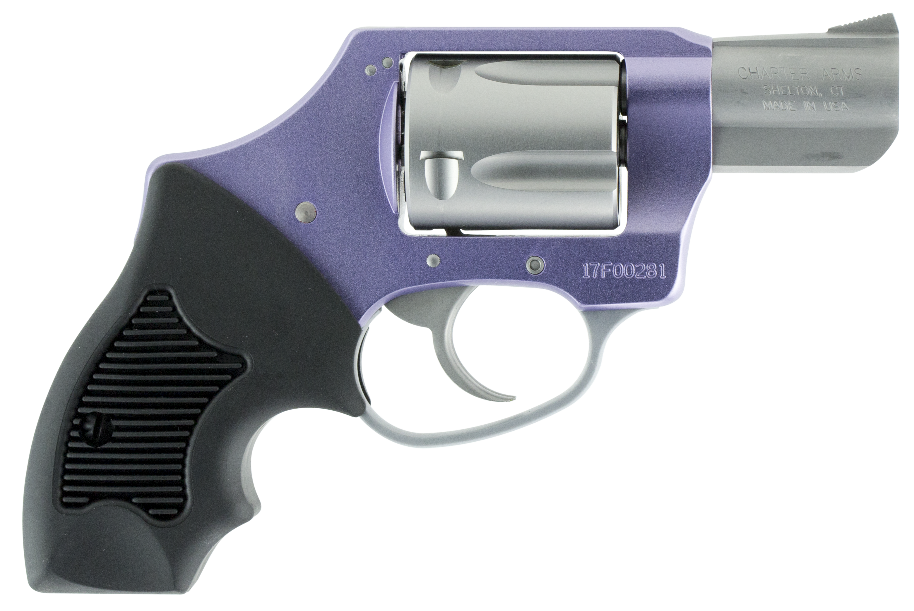 Charter Arms 53841 Undercover Lite Lavender Lady DAO Double 38 Special 2