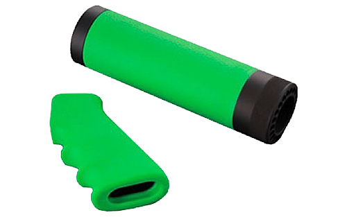 Hogue 05019 Mossberg 500 Rubber Tamer Grip/Forend Zombie Green