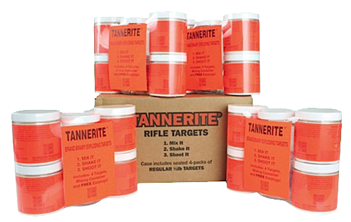 Tannerite 1/2BR Half Brick 1/2lb Exploding Targets 16/Case w/Measuring Spoon