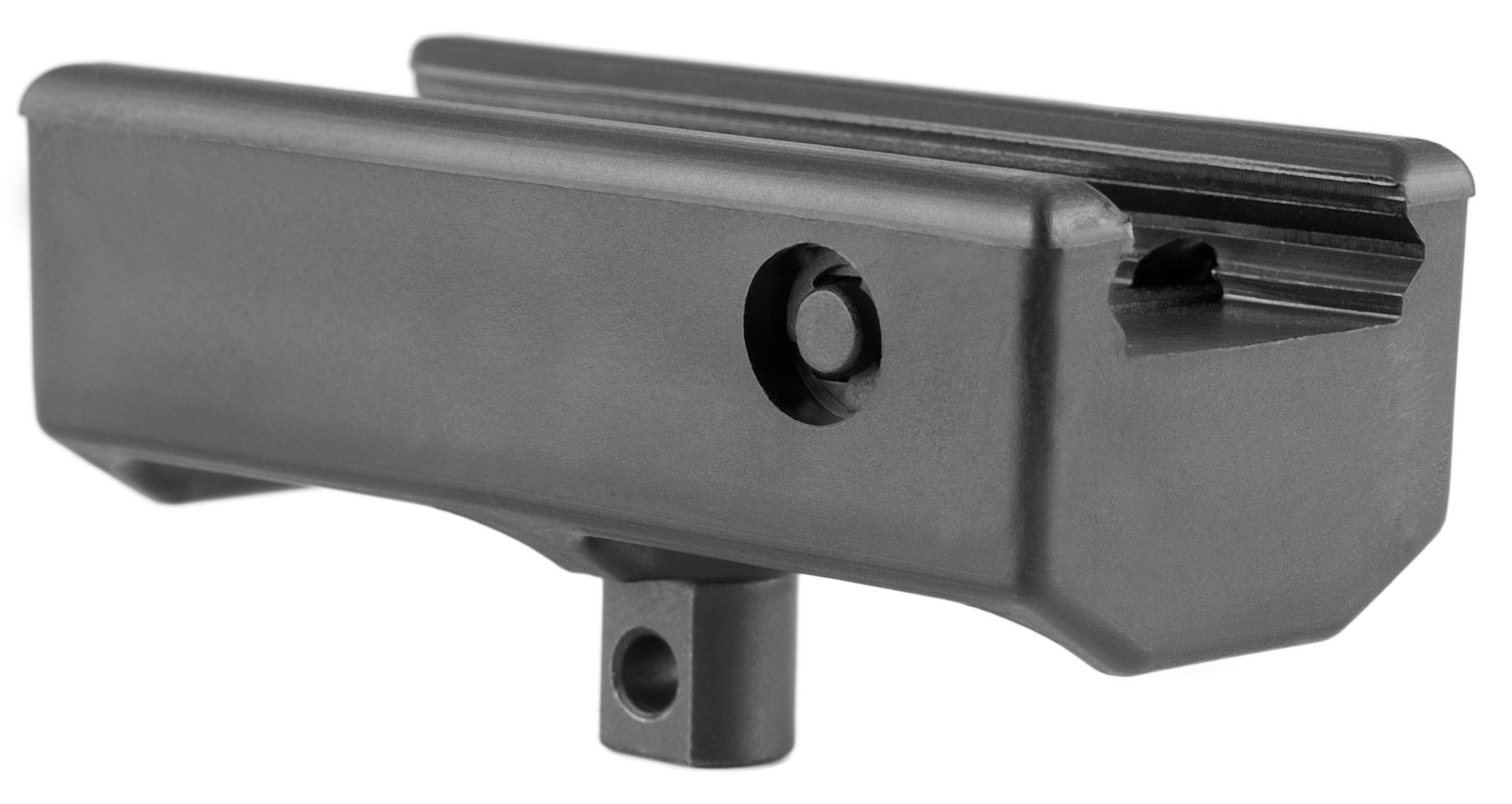 Mission First Tactical BP1 Mounting Rails For Universal Rifle 1-Piece Style Black Finish
