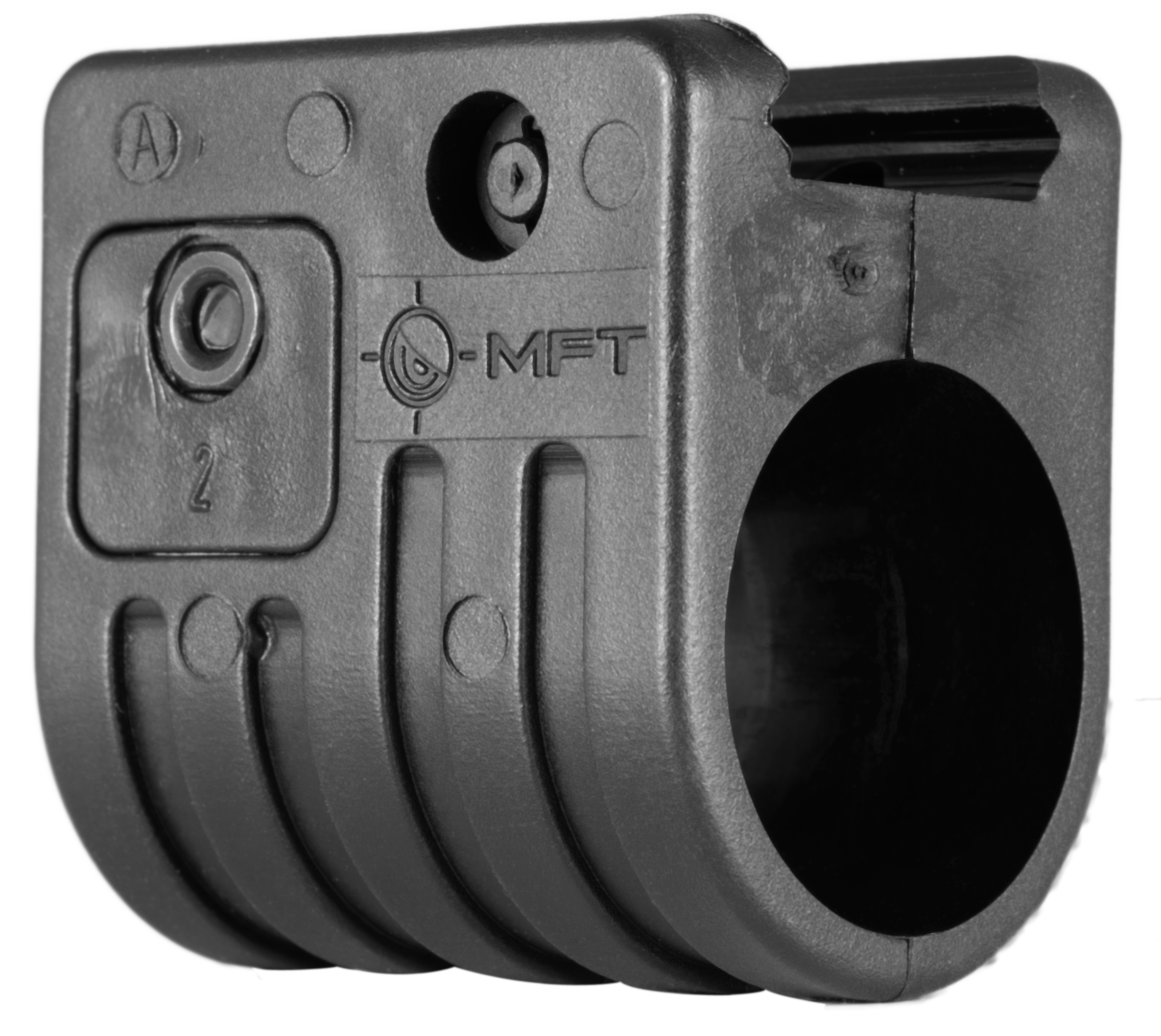 Mission First Tactical FAS2 Light Mount For Quick Detach 1-Piece Style Black Finish 1