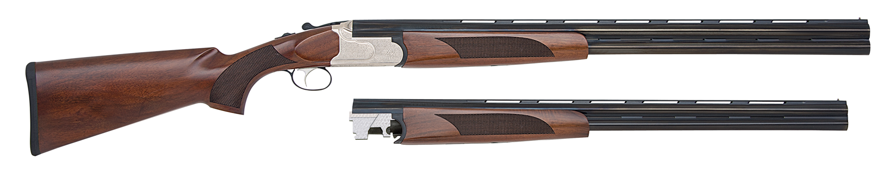 Mossberg 75442 Silver Reserve II Field Over/Under Over/Under N/A 12/20 Gauge Blued Barrel/Silver Receiver