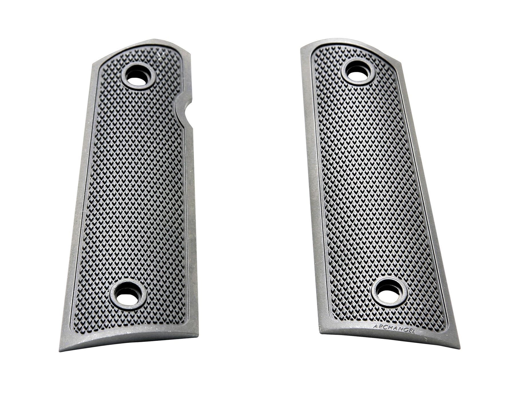 Archangel AA107 1911 Grip Panels 1911 Black Aluminum