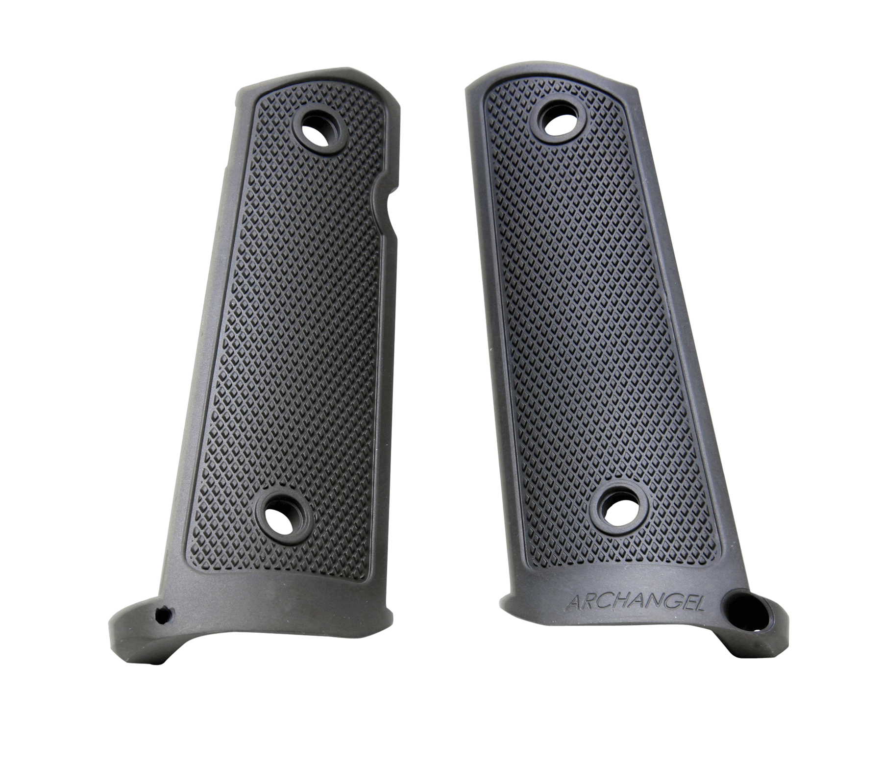 Archangel AA108 1911 Grip Panels 1911 Black Aluminum