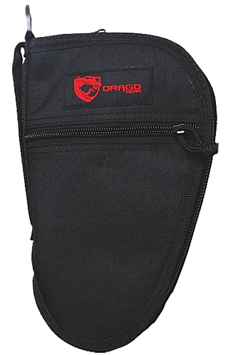 Drago Gear 12311BL Single Pistol Case 600D Polyester Black 9.5