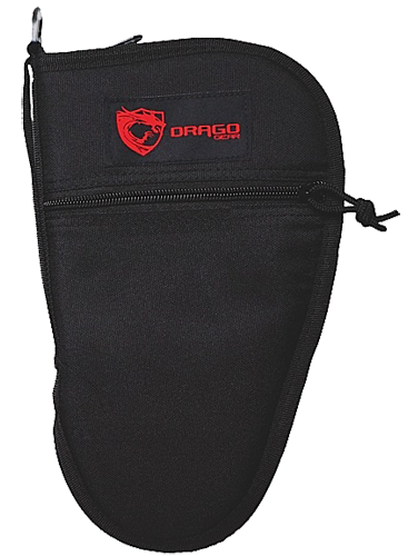 Drago Gear 12312BL Single Pistol Case 600D Polyester Black 11.5