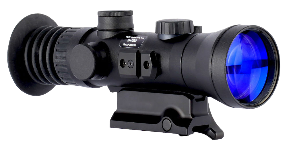 Night Optics NS-730-3G D-730 Gated NV Scope 3rd Gen 3.7x85mm 8.5 degrees