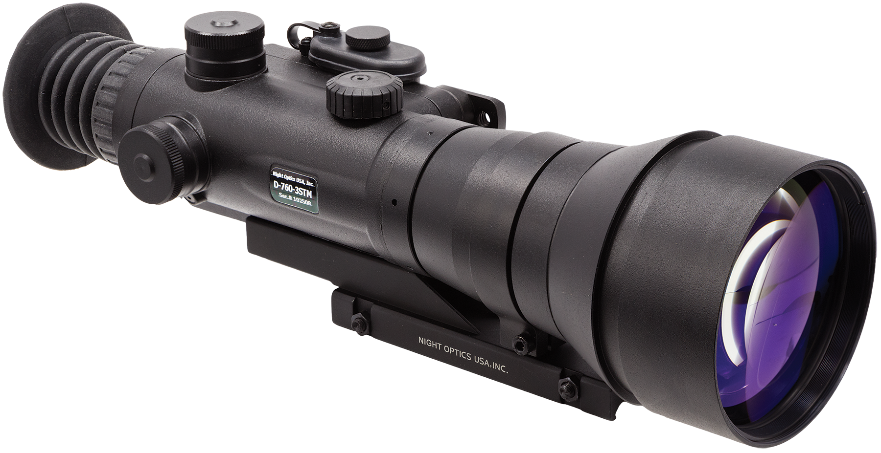 Night Optics NW7603SM D-760 Night Vision Scope Gen 3 6x 165mm 420 ft @ 1000yds