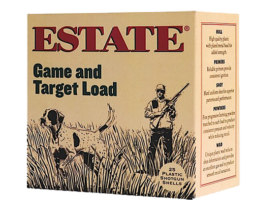Estate GTL12N75 Game & Target Dove 12 Ga 2.75