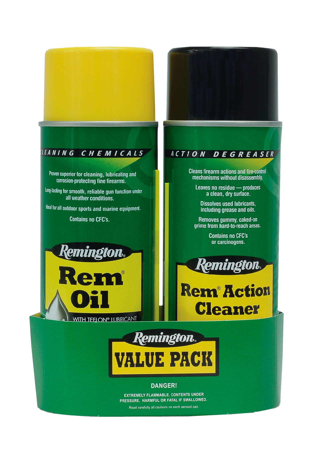 Remington Accessories 18154 Rem Oil Combo 2 Pack Cleaner Value