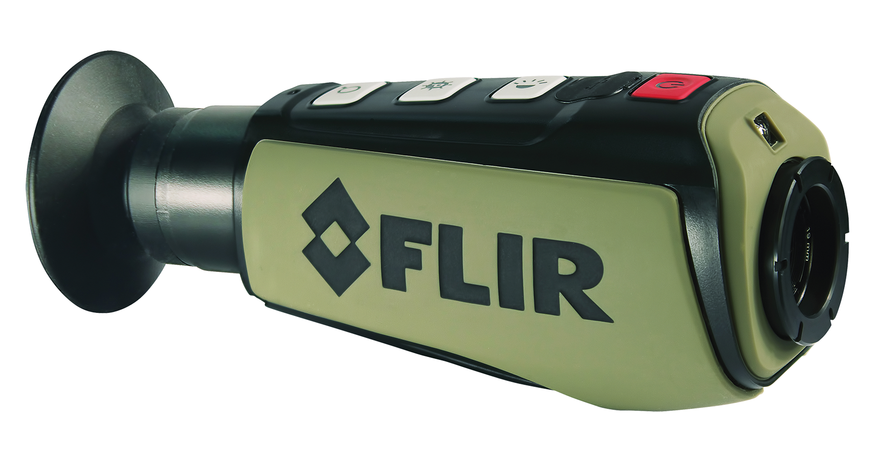 FLIR PS24 Scout Thermal Night Vision 350 yds 240x180 pixels Li-Ion Green/Black